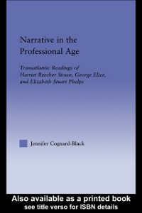 Ebook in inglese Narrative in the Professional Age Cognard-Black, Jennifer
