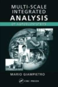 Ebook in inglese Multi-Scale Integrated Analysis of Agroecosystems Giampietro, Mario