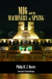 Ebook in inglese MI6 and the Machinery of Spying DAVIES, PHILIP
