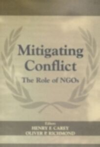 Ebook in inglese Mitigating Conflict Carey, Henry F. , Richmond, Oliver P.