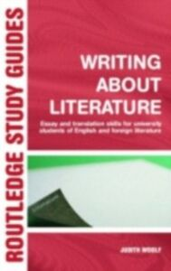 Ebook in inglese Writing About Literature Woolf, Judith