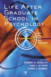 Life After Psychology Graduate School