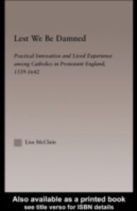 Ebook in inglese Lest We Be Damned McClain, Lisa