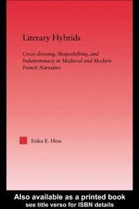 Ebook in inglese Literary Hybrids Hess, Erika E.