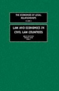 Ebook in inglese Law and Economics in Civil Law Countries -, -