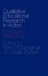 Foto Cover di Qualitative Educational Research in Action, Ebook inglese di  edito da Taylor and Francis