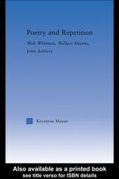 Poetry and Repetition