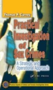 Practical Investigation of Sex Crimes