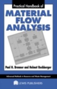 Ebook in inglese Practical Handbook of Material Flow Analysis Brunner, Paul H. , Rechberger, Helmut