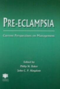 Foto Cover di Pre-eclampsia, Ebook inglese di  edito da CRC Press