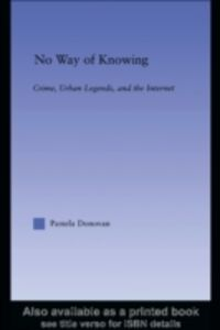 Foto Cover di No Way of Knowing, Ebook inglese di Pamela Donovan, edito da Taylor and Francis