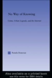 Ebook in inglese No Way of Knowing Donovan, Pamela
