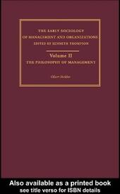 Philosophy of Management