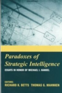 Foto Cover di Paradoxes of Strategic Intelligence, Ebook inglese di  edito da Taylor and Francis