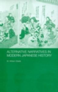 Ebook in inglese Alternative Narratives in Modern Japanese History Steele, M. William