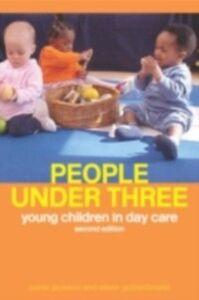 Ebook in inglese People Under Three Goldschmied, Elinor , Jackson, Mrs Sonia , Jackson, Sonia