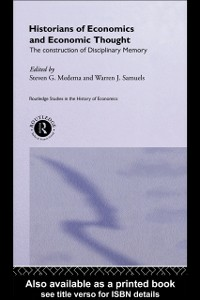 Ebook in inglese Historians of Economics and Economic Thought -, -