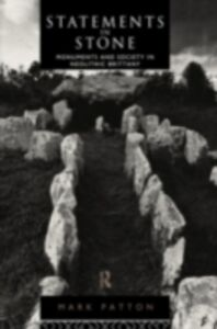 Foto Cover di Statements in Stone, Ebook inglese di Mark Patton, edito da Taylor and Francis