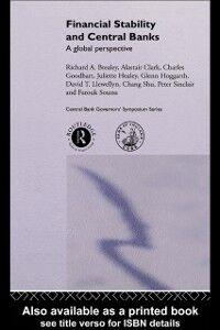 Foto Cover di Financial Stability and Central Banks, Ebook inglese di  edito da Taylor and Francis