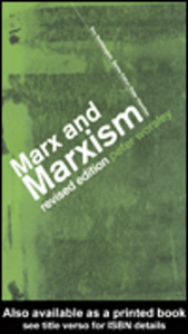 Ebook in inglese Marx and Marxism Worsley, Peter