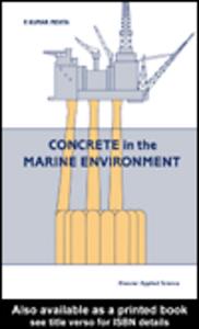 Ebook in inglese Concrete in the Marine Environment Mehta, P.K.
