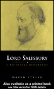 Ebook in inglese Lord Salisbury Steele, David