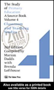 Ebook in inglese The Study Of Primary Education Dadds, Marion , Lofthouse, Brenda