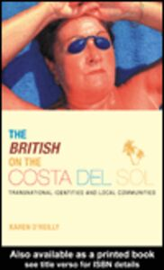 Ebook in inglese The British on The Costa Del Sol O'Reilly, Karen