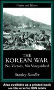 Foto Cover di The Korean War, Ebook inglese di Stanley Sandler, edito da