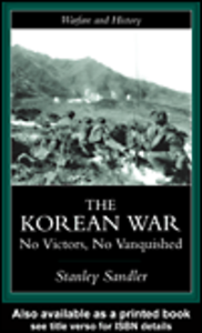 Ebook in inglese The Korean War Sandler, Stanley