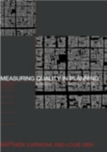 Ebook in inglese Measuring Quality in Planning Carmona, Matthew , Sieh, Louie
