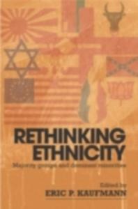 Ebook in inglese Rethinking Ethnicity -, -