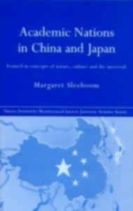 Ebook in inglese Academic Nations in China and Japan Sleeboom, Margaret