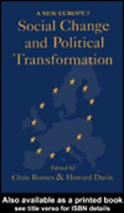 Ebook in inglese Social Change And Political Transformation