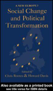 Foto Cover di Social Change And Political Transformation, Ebook inglese di  edito da