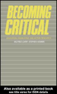 Ebook in inglese Becoming Critical Kemmis, Stephen