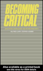 Becoming Critical