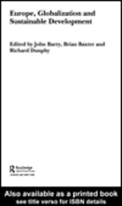 Ebook in inglese Europe, Globalisation and Sustainable Development