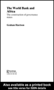 Ebook in inglese The World Bank and Africa Harrison, Graham