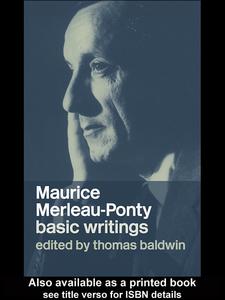 Ebook in inglese Maurice Merleau-Ponty Baldwin, Thomas