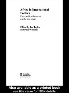 Ebook in inglese Africa in International Politics