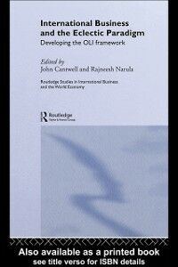 Foto Cover di International Business and the Eclectic Paradigm, Ebook inglese di  edito da Taylor and Francis