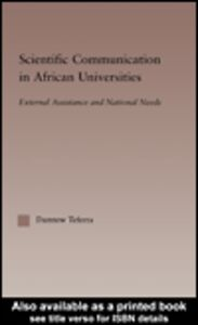 Ebook in inglese Scientific Communication in African Universities Teferra, Damtew