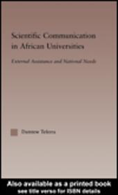 Scientific Communication in African Universities