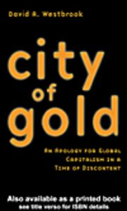 Ebook in inglese City of Gold Westbrook, David