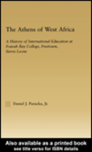 Ebook in inglese The Athens of West Africa Paracka, Daniel J.