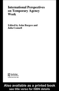 Ebook in inglese International Perspectives on Temporary Work -, -