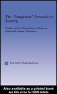 Ebook in inglese The Dangerous Potential of Reading Aliaga-Buchenau, Ana-Isabel