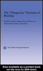 Ebook in inglese The Dangerous Potential of Reading Aliaga-Buchenau, Ana-Isabel