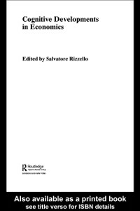 Ebook in inglese Cognitive Developments in Economics Rizzello, Salvatore
